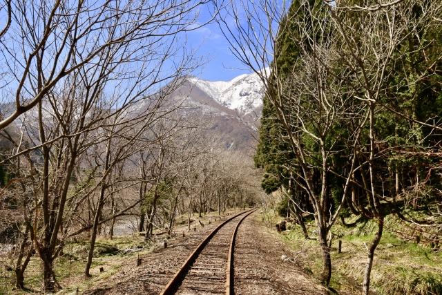 ガッタンゴーの線路