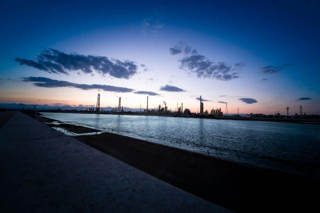塩浜 工場夜景