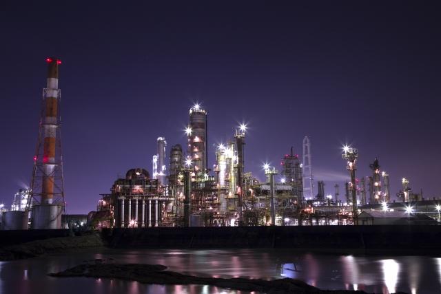 大正橋 工場夜景