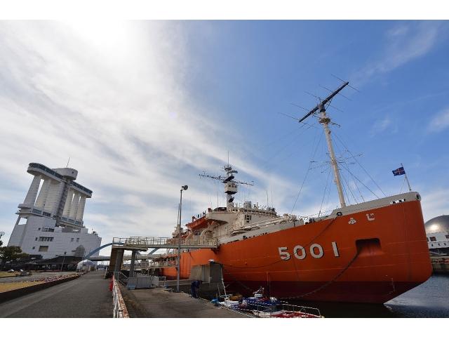 南極観測船ふじ_外観