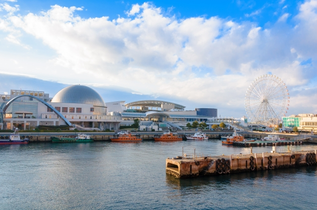 名古屋港水族館の外観