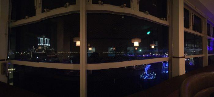レッドロブスターから見る夜景