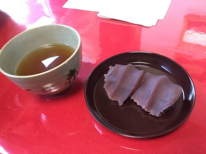 赤福とお茶