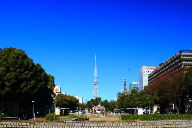 名古屋栄の風景
