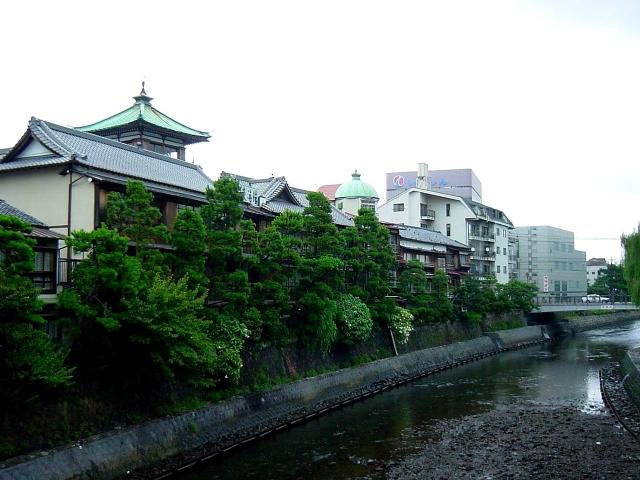 伊東温泉の風景