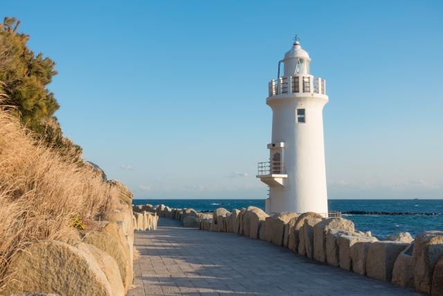 伊良湖岬の灯台