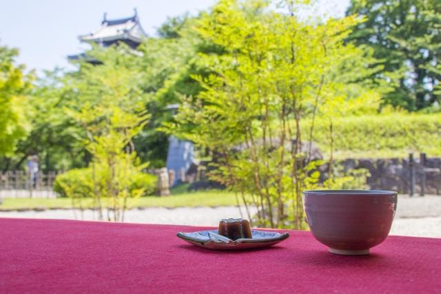 西尾城のお休み処